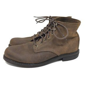 """Wolverine 9.5 M Brown Kilometer Boots Mid Ankle 6"""""""